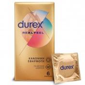 Durex Real Feel 6 Προφυλακτικά