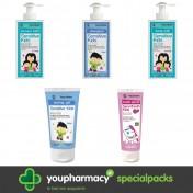 Frezyderm Πακέτο - Μπάνιο Αγοριών (5 Προϊόντα)