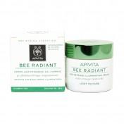 Apivita Bee Radiant Κρέμα Ελαφριάς Υφής Αντιγήρανσης & Λάμψης 50ml