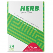 Vican Herb Spare Filter 24 Τεμάχια