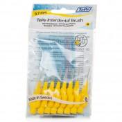 TePe Μεσοδόντια Βουρτσάκια Fine 0,7 mm Κίτρινο 8τμχ
