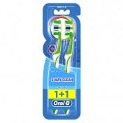 Oral B Οδοντόβουρτσα Complete 5 Way Clean 40 Medium 1+1 ΔΩΡΟ