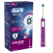 Oral B Pro 600 Cross Action Colour Edition Pink
