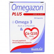 Health Aid Omegazon Plus Ω3 & Co Q10 30caps
