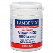Lamberts Vitamin D3 1000iu 120tabs