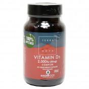 Terranova Vitamin D3 2000iu Complex 50caps