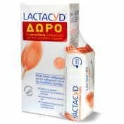 Lactacyd Intimate Daily Washing Lotion 300ml Και ΔΩΡΟ Intimate Wipes 15τεμ