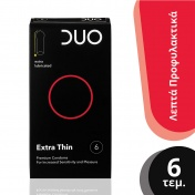 Duo Extra Thin Πολύ Λεπτό 6 Τεμαχίων