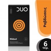 Duo Ribbed Με Ραβδώσεις 6 Τεμαχίων