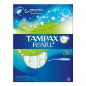 Tampax Pearl Super Μέτρια Έως Μεγάλη Ροή 18 Ταμπόν