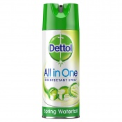 Dettol All-in-One Spring Waterfall Απολυμαντικό Spray 400ml