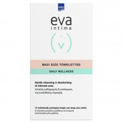 Eva Intima Fresh And Clean Μαντηλάκια 12 Τεμ