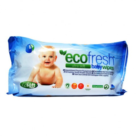 Asepta Eco Fresh Baby Wipes 72τεμ