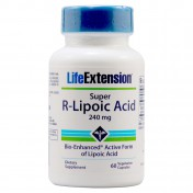 Life Extension Super R - Lipoic Acid 60 veg.caps