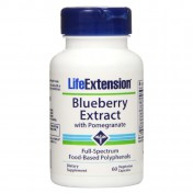 Life Extension Blueberry Extract With Pomegranate 60veg caps
