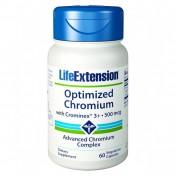 Life Extension Optimized Chromium With Crominex 60caps