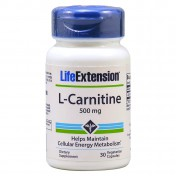 Life Extension L Carnitine 500Mg 30caps