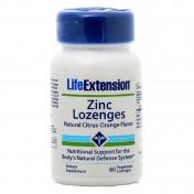 Life Extension Zinc Lozenges 60 caps