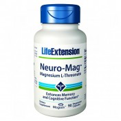 Life Extension Neuro-Mag Magnesium L - Theionate 90 veg caps