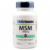 Life Extension MSM (Methylsulfonylmethane) 1000mg 100caps