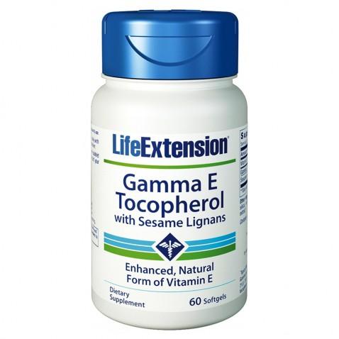 Life Extension Gamma E Tocopherol Sesame Lig. 60 softgels αρχική   βιταμινεσ συμπληρωματα   βιταμινεσ   vit e