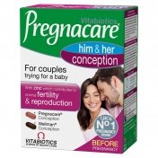 Vitabiotics Pregnacare His & Her Conception 2x30tabs