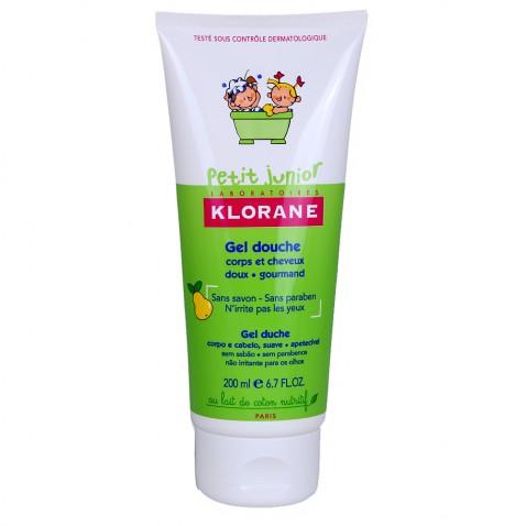 Klorane Petit Junior Gel Douche Shampoo Poire 200ml