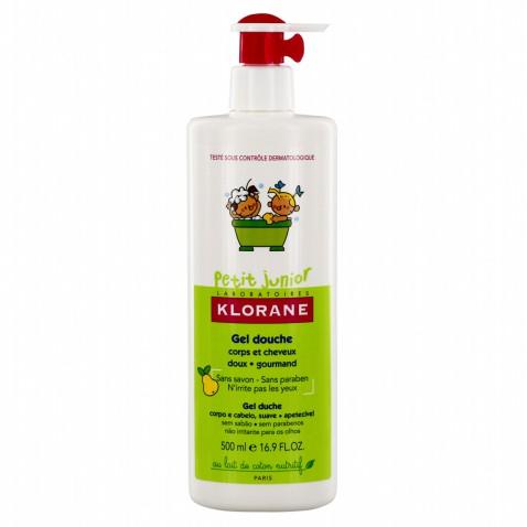 Klorane Petit Junior Gel Douche Shampoo Poire 500ml