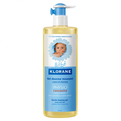 Klorane Bebe Gel Douceur Moussant 500ml