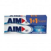 Aim Οδοντόκρεμα White System 75ml 1+1 ΔΩΡΟ