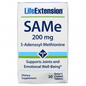 Life Extension SAMe S-adenosyl-methionine 200mg 30 tabs