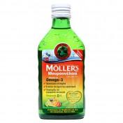 Moller's Μουρουνέλαιο (Cod Liver Oil) Tutti Frutti Flavour 250ml