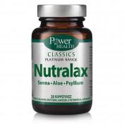 Power Health Nutralax Classics Platinum Range 20 Tabs