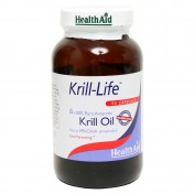 Health Aid Krill Life Krill Oil 500mg 90caps