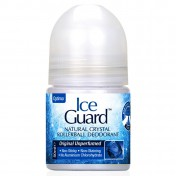 Optima Ice Guard Crystal Deodorant Roll On Unperfumed 50ml