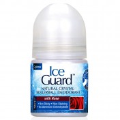 Optima Ice Guard Crystal Deodorant Roll On Rose 50ml