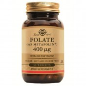 Solgar Folate 400 μg (as Metafolin) 50 tabs
