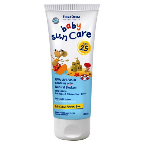 Frezyderm Baby Sun Care Spf 25 100ml αρχική   αντιηλιακα   βρεφικα παιδικα