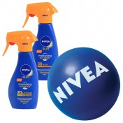 Nivea Σετ με 1 Sun Trigger Spray SPF 20 300ml & 1 Sun Trigger Spray SPF 30 300ml & ΔΩΡΟ Μπάλα Θαλάσσης NIVEA