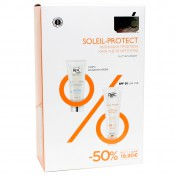 Roc Promo Pack Soleil Protect Creme Hydratante Comfort Legere 40ml & Fluide Antibrillance Matifiant SPF30 50ml