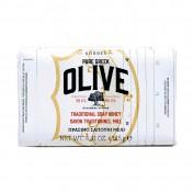 Korres Pure Greek Olive Παραδοσιακό Πράσινο Σαπούνι Ελιά & Μέλι 125gr