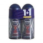 Nivea Men Dry Impact Plus Roll-On 48h 50ml 1+1 ΔΩΡΟ