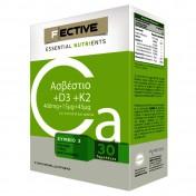 F Ective Calcium + D3 + K2 30 tabs