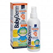 BabyDerm Sunscreen Lotion SPF50 200ml