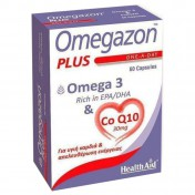 Health Aid Omegazon Plus Ω3 & Co Q10 60caps