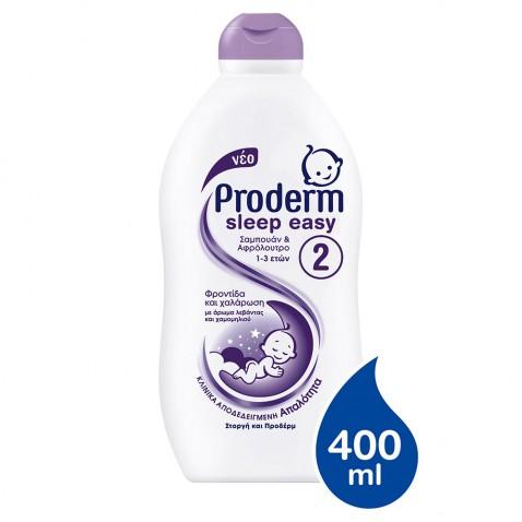 Proderm Σαμπουάν & Αφρόλουτρο Sleep Easy 400ml