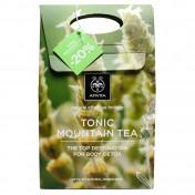 Apivita Promo Box Tonic Mountain Tea Αφρόλουτρο 300ml & Γαλάκτωμα Σώματος 200ml, -20%