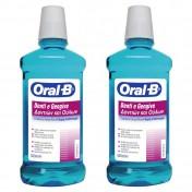 Oral B Στοματικό Διάλυμα Δοντιών & Ούλων 500ml 1+1 ΔΩΡΟ
