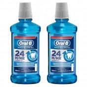 Oral B Στοματικό Διάλυμα Pro-Expert 24HR 500ml 1+1 ΔΩΡΟ