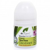 Dr.Organic Tea Tree Deodorant Roll On 50ml